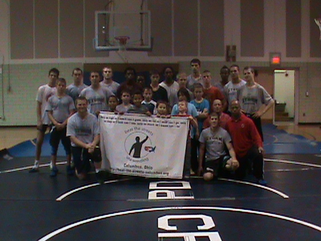 Storm Wrestlers Help Youngsters Beat the Streets
