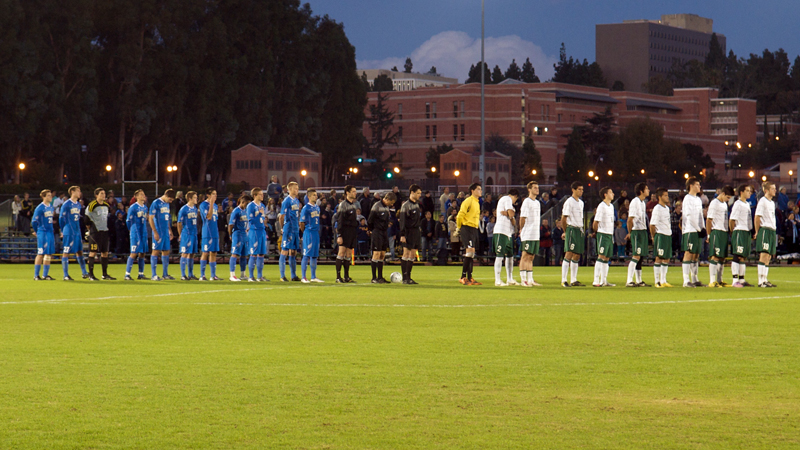 MEN'S SOCCER FALLS AT USF