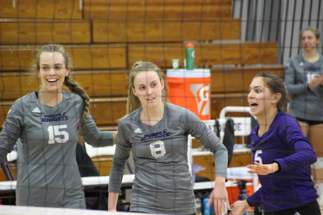 SWEET SIXTEEN!  Bridgeport Volleyball Advances To 2019 NCAA East Regional Final With Sweep Over Holy Family