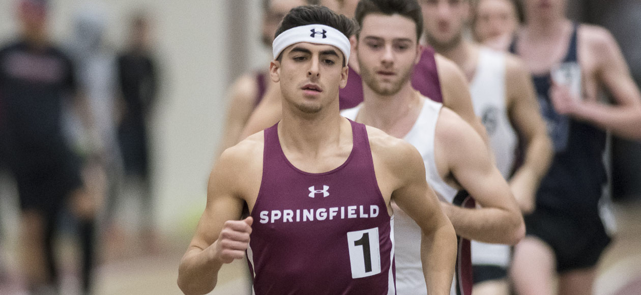 Men's Track and Field Competes at Boston University Valentines Invitational and MIT Invitational; Pinho Smashes 1000 Meter Record