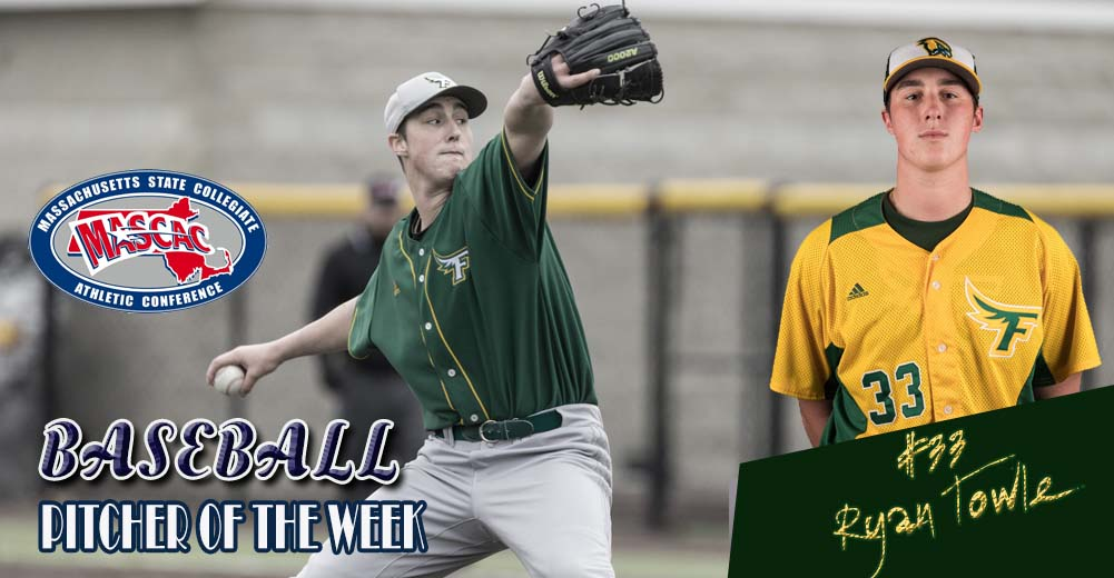Towle Selected MASCAC Baseball Pitcher Of The Week