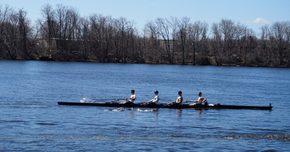 Rowing Picks up Three Medals at the Head of the Housatonic