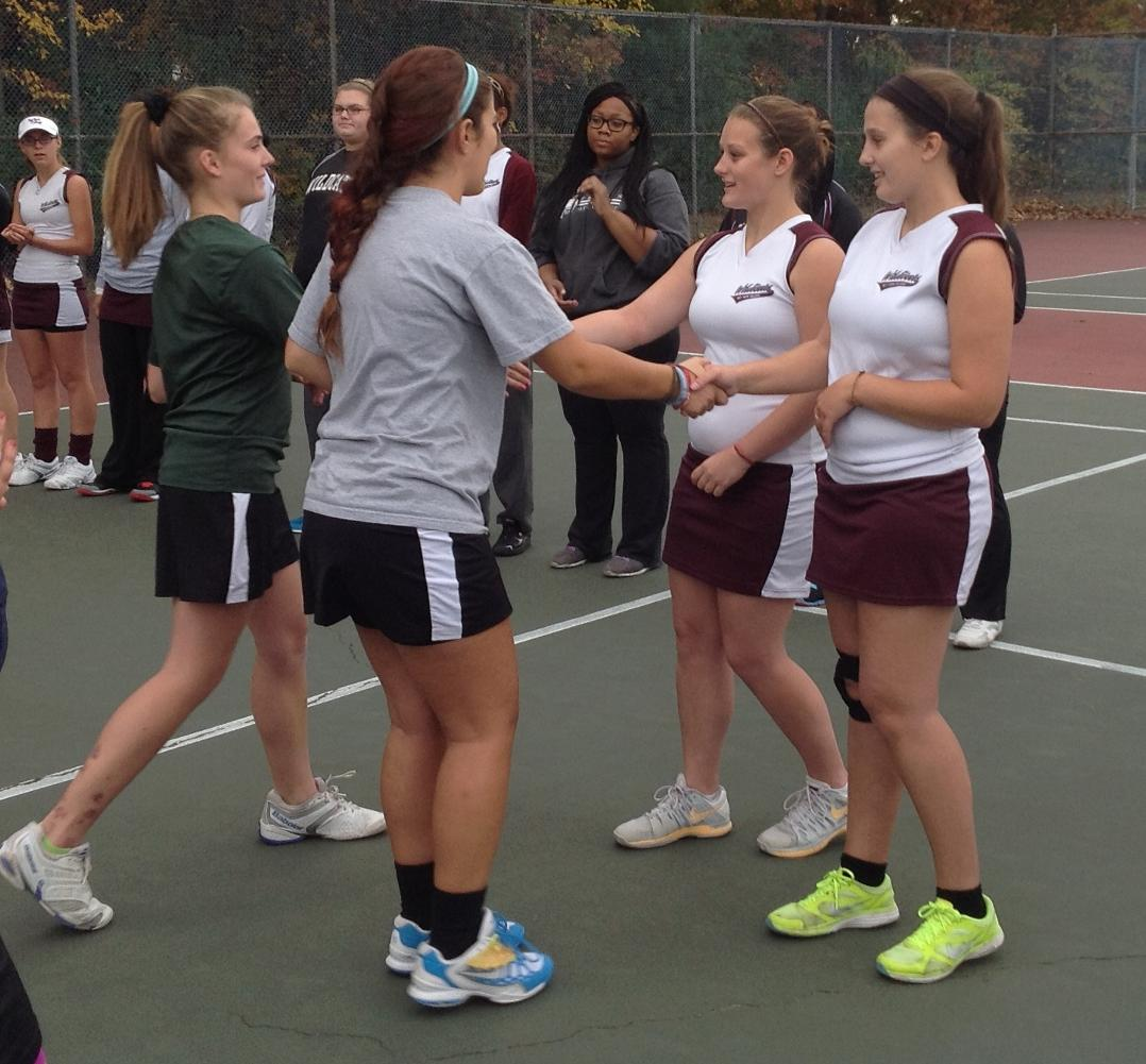 Bay Path Advances to NECC Women's Tennis Finals