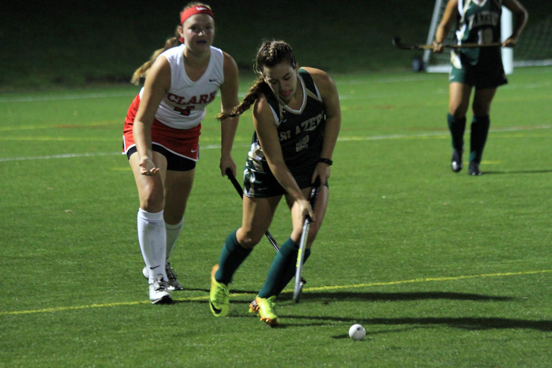 Field Hockey Falls At New England College