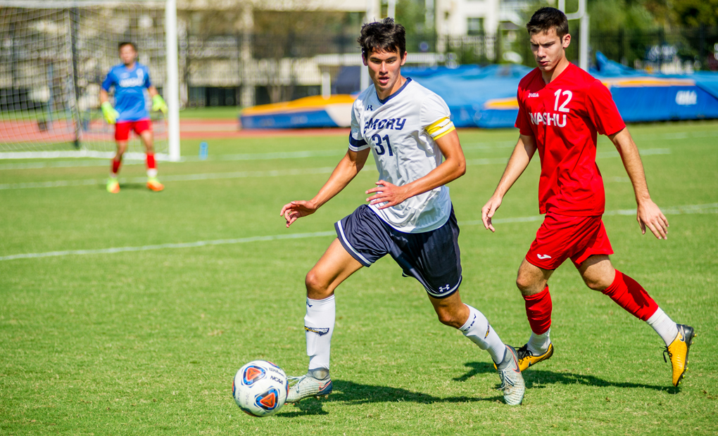 Emory Men's Soccer Opposes Dickinson in NCAA First Round on Saturday