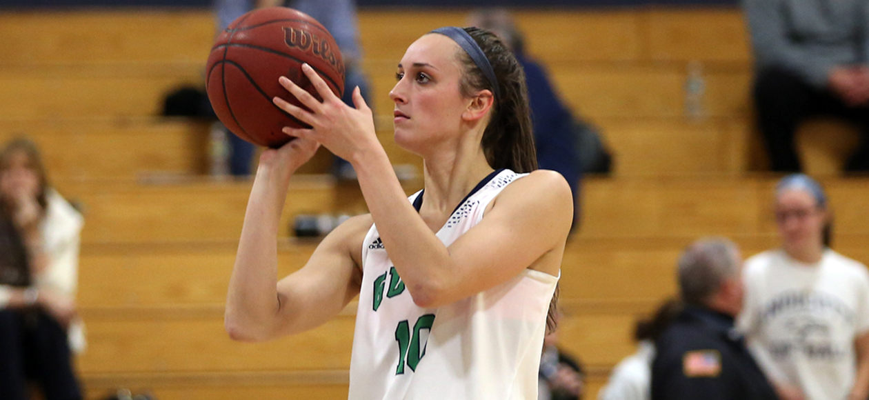Kelsey Cuddy Sets New Career-High With 28 Points In Endicott's 77-62 Road Win At Curry