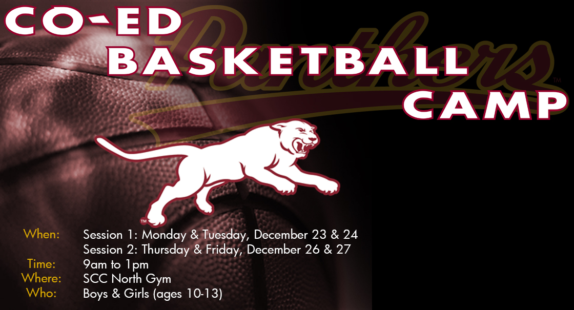 The Panthers will be hosting 2 basketball mini-camps over the Holiday break...Sign Up Today!