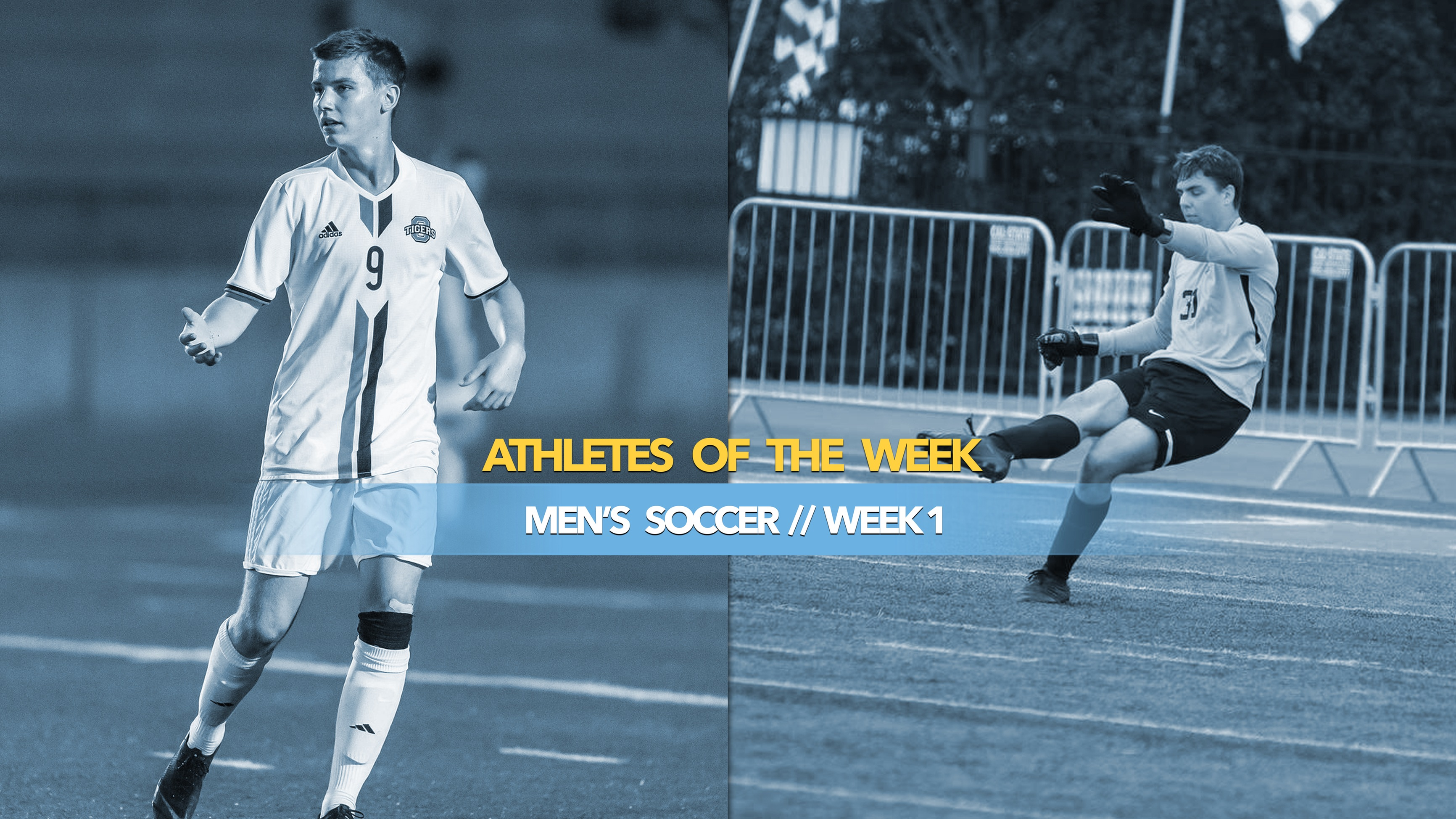 Men's Soccer Athletes of the Week: September 2, 2019