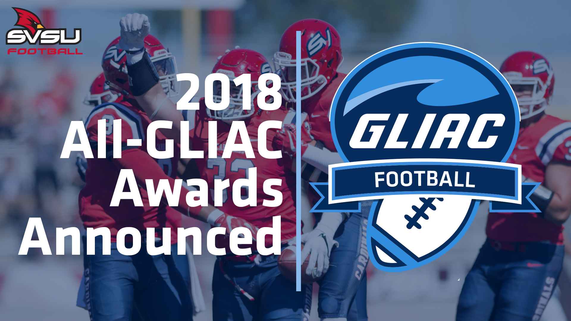 2018 All-GLIAC Football Honorees Announced