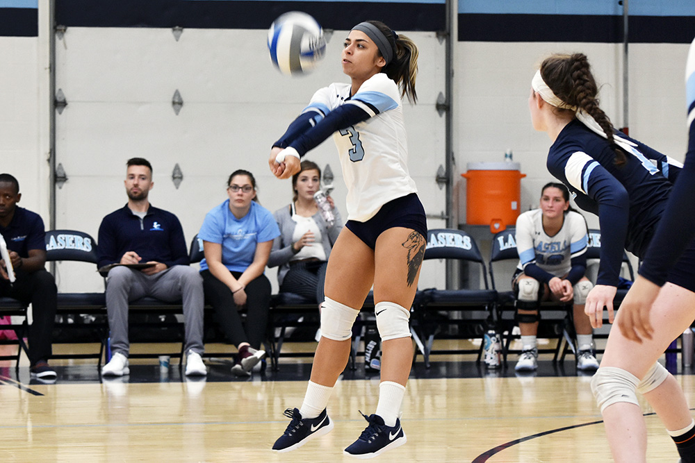 WVB: Lasers fall to Northern Vermont University-Johnson 3-0