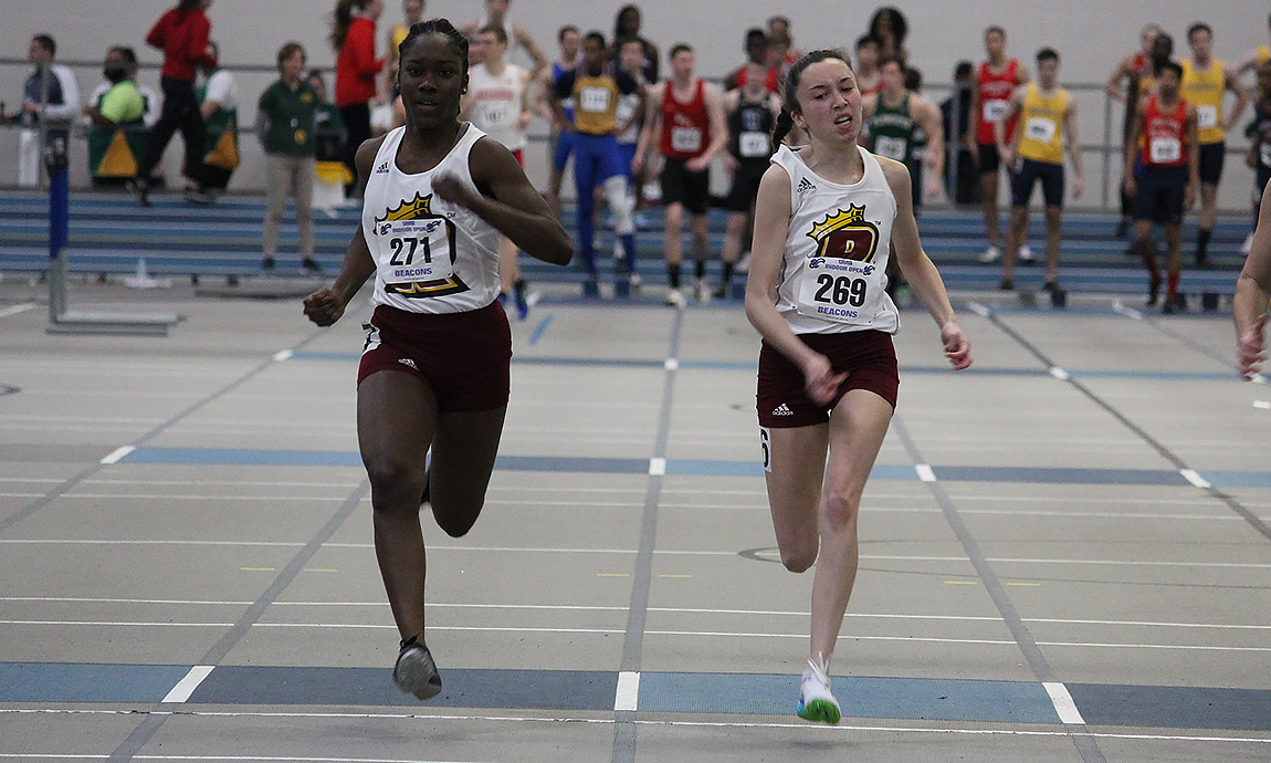 Women's Track and Field goes to Bowdoin, LaFlamme to MIT for New Englands