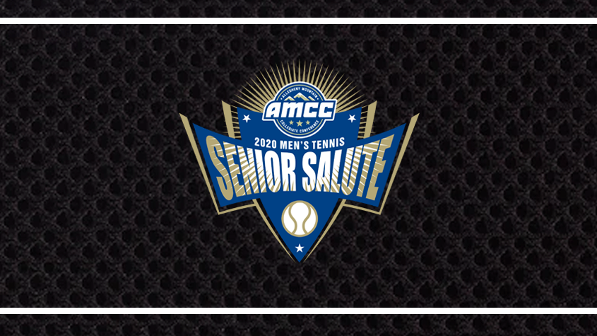 MEN'S TENNIS HONORED WITH AMCC'S FINAL EDITION OF SENIOR SALUTES