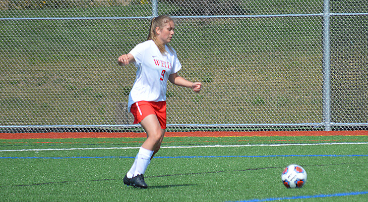 Late Rally Foils Wells Women's Soccer