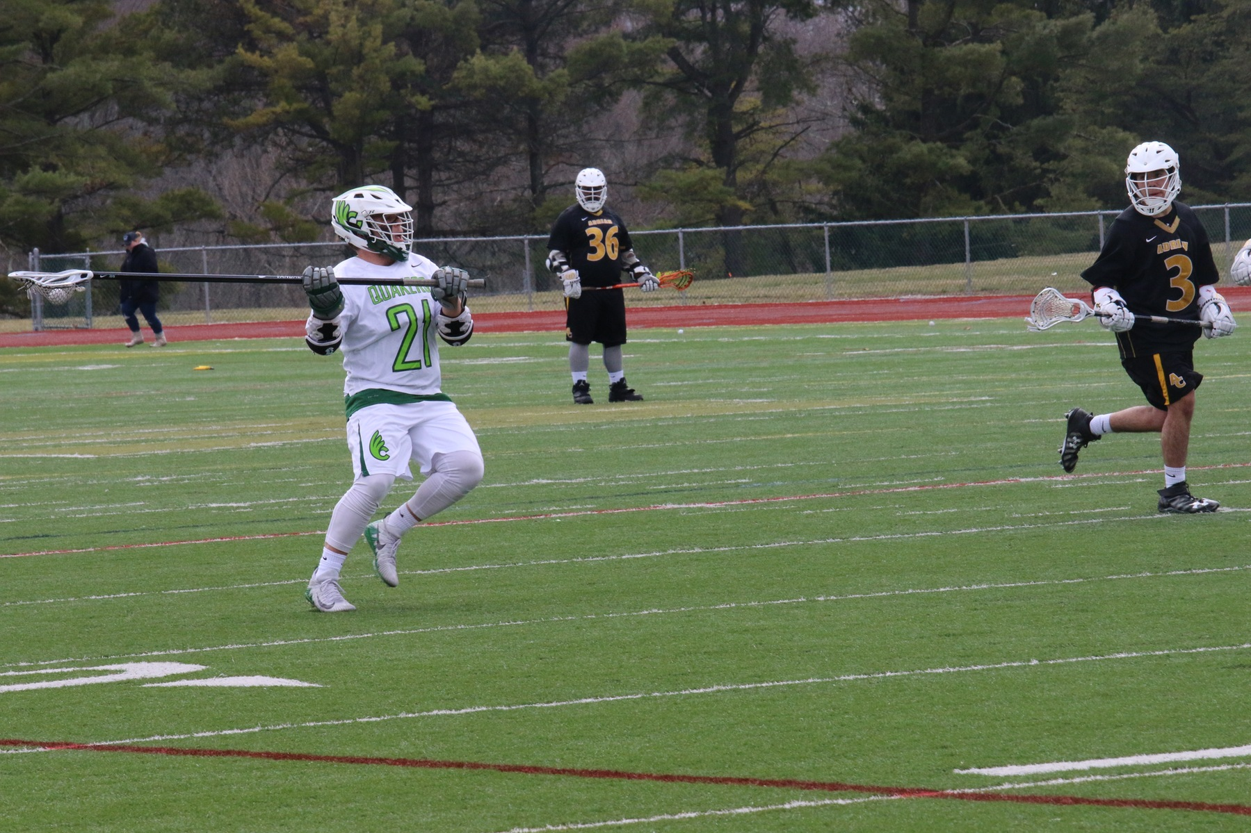 Men's Lacrosse Drops First OAC Game Against Mount Union 12-3