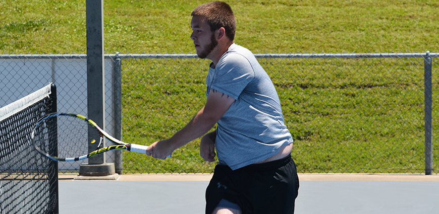 Men's Tennis Team Eliminated From ASC Championship Tournament