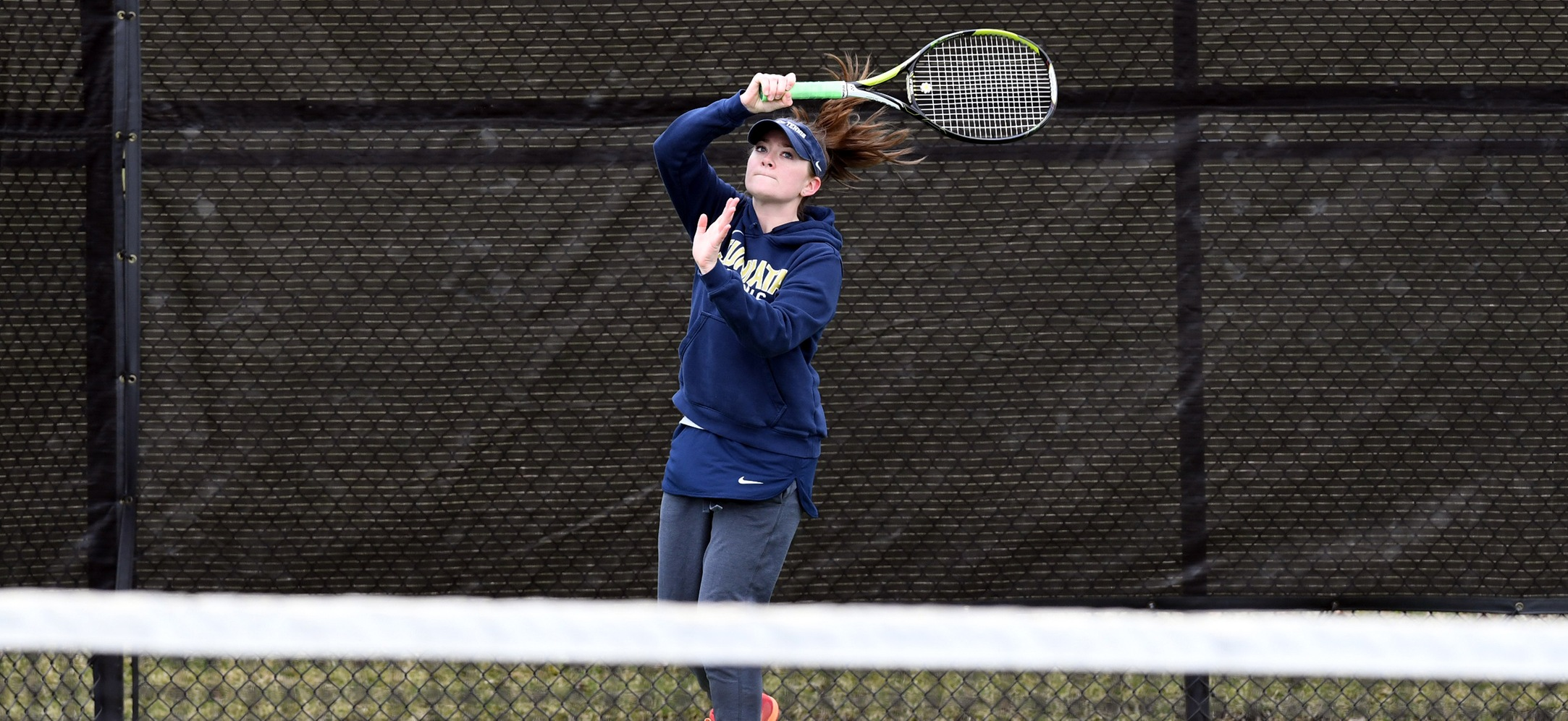 Women's Tennis Edged by Susquehanna