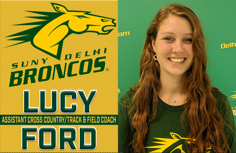 Lucy Ford Introduced as Cross Country, Track & Field Assistant Coach