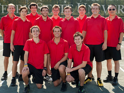Men's Tennis Stuns Northwood To Win GLIAC