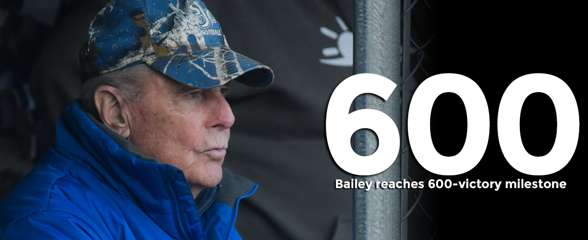 Coach Bailey Notches 600th Career Victory