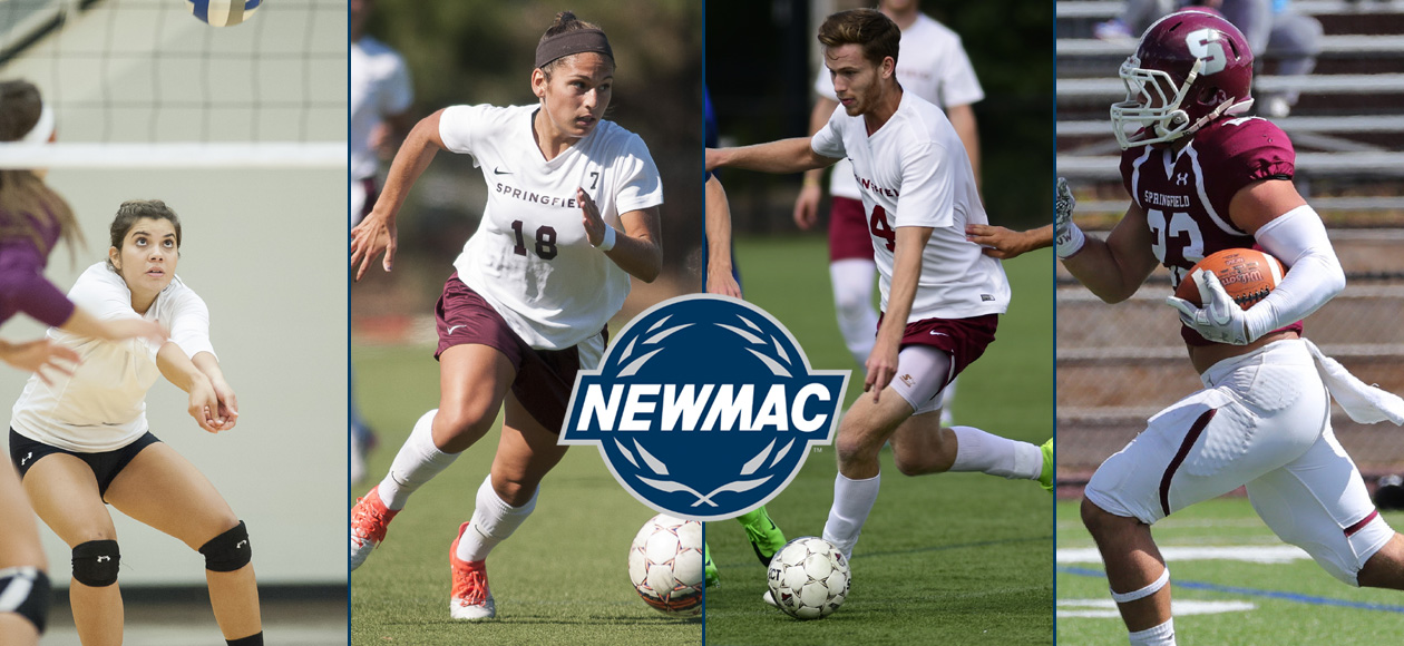 Four Springfield College Student-Athletes Receive NEWMAC Weekly Honors