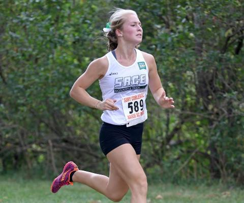 Gator Harriers Race to Fifth Place at SUNY-Cobleskill Invitational