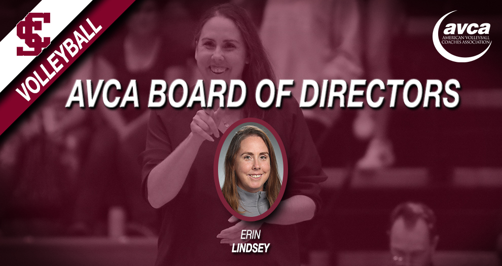 Volleyball Head Coach Lindsey Appointed to AVCA Board of Directors