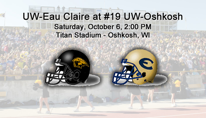 Football Preview: UW-Eau Claire at #19 UW-Oshkosh