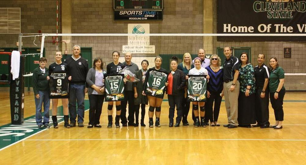 Vikings Fall To Oakland On Senior Day