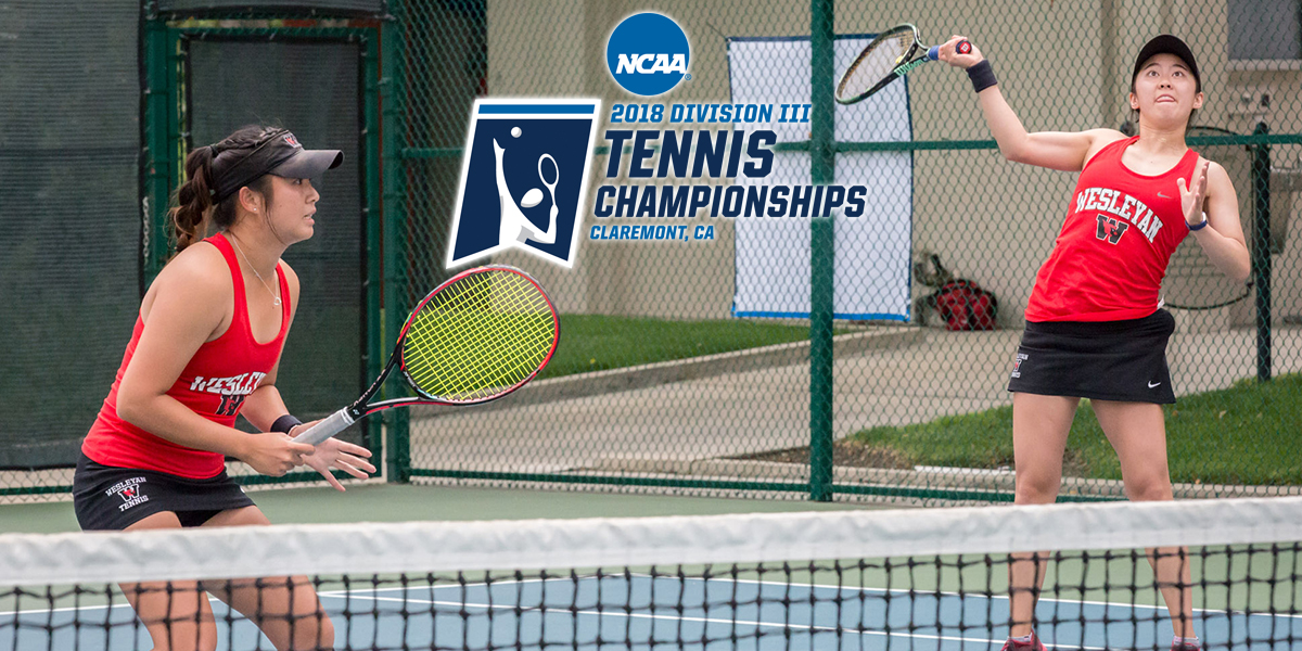 Wesleyan Tennis Ready for Competition at NCAA Division III Individual Championships