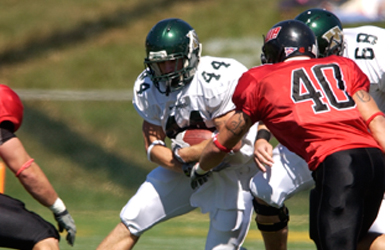 Moravian runs away with 42-3 victory at McDaniel