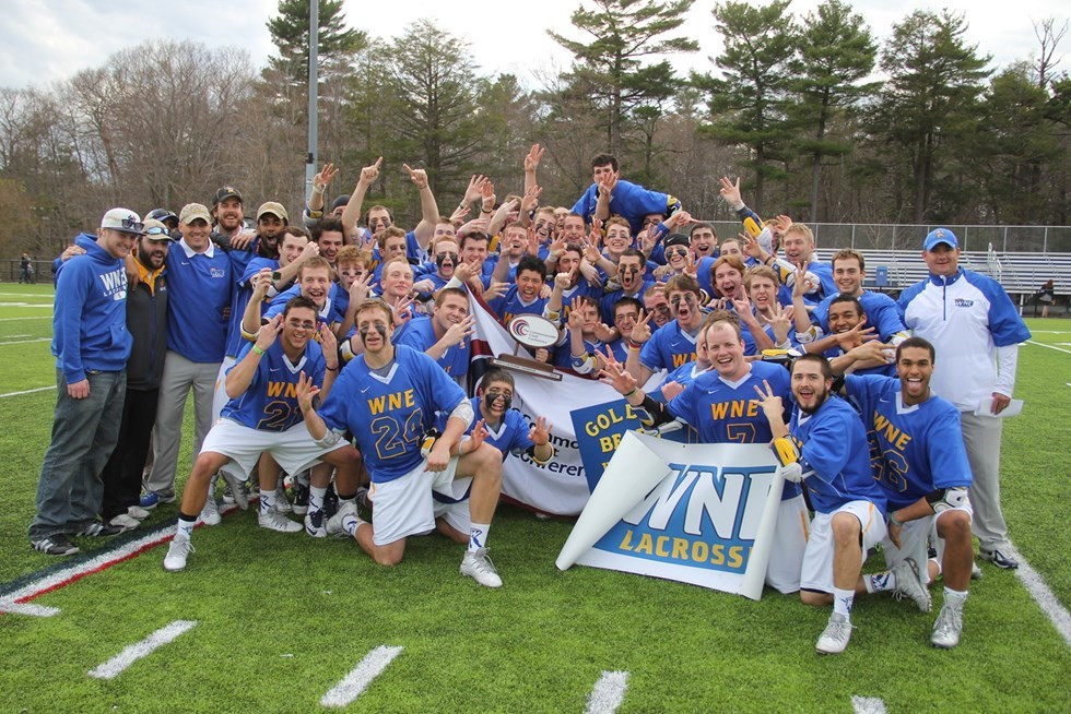 Top Moment #3 of 2013-14: CCC Three-Peat and NCAA Berth for Men's Lacrosse
