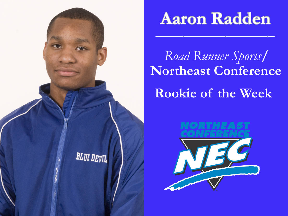 Radden Earns Northeast Conference Honors