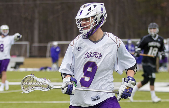 Men's Lacrosse Nets Third Straight Victory, Downs Post in Non-League Play