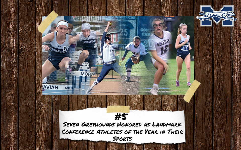 Top 10 Stories of 2018-19 - #5 Six Greyhounds Earn Seven Landmark Conference Athlete of the Year Honors.