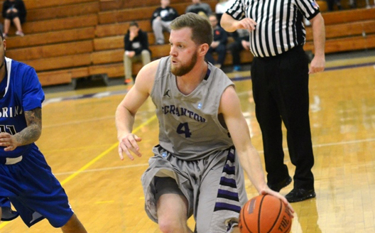 Senior guard Justin Klingman scored a season-high 18 points--15 in the second half--in tonight's 79-74 loss to Husson University (Maine) at the 5th annual D3hoops.com Classic in Las Vegas, Nevada