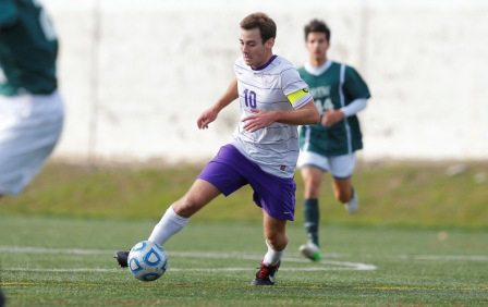 Senior midfielder Bill McGuiness of the men's soccer team was named first-team Academic All-American by the College Sports Information Directors of America on Tuesday.