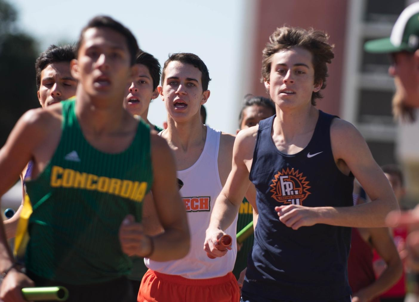 Men's Track Shows Its Potential at SCIAC Multi-Dual