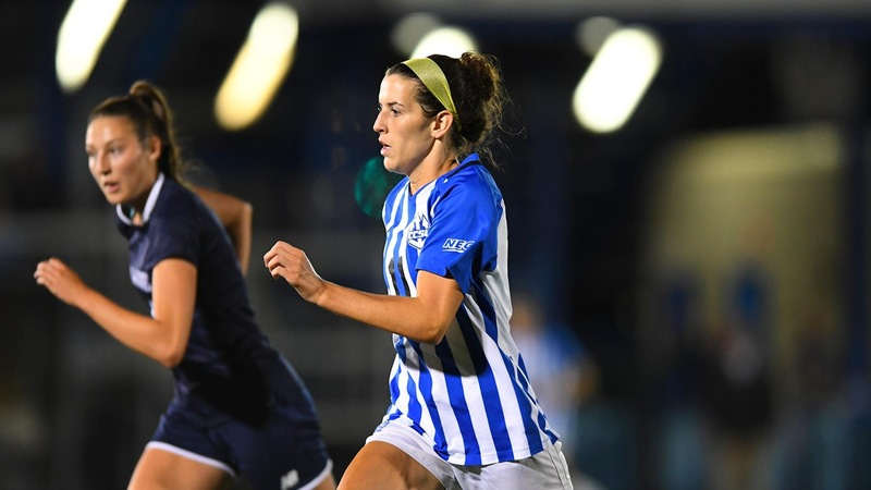 Women's Soccer Stopped at Yale Sunday