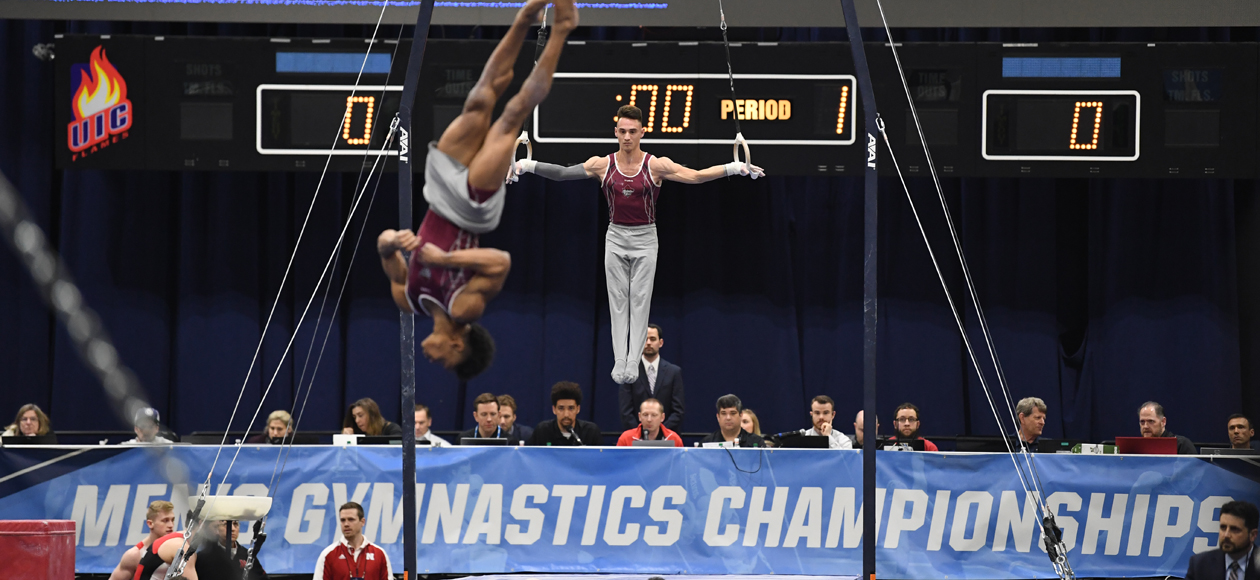 Graff Advances To All-Around Individual Finals At NCAA Gymnastics Championships