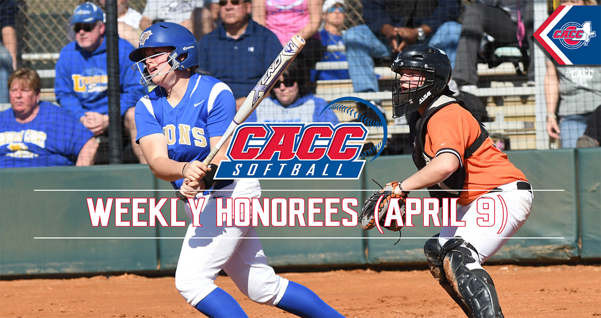 CACC Softball Weekly Honorees (April 9)