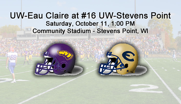 Football Preview: UW-Eau Claire at No. 16 UW-Stevens Point
