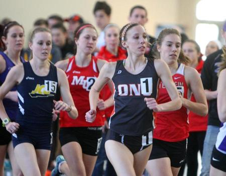 Women's Indoor Track & Field finishes third of 10 teams at OAC Championships