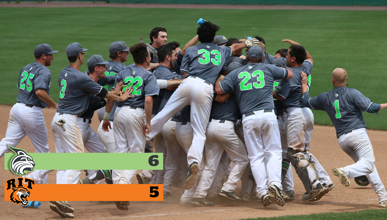 Lynx Stay Alive In NCAA Regional With 15-Inning Upset of Nationally Ranked Rochester Institute of Technology