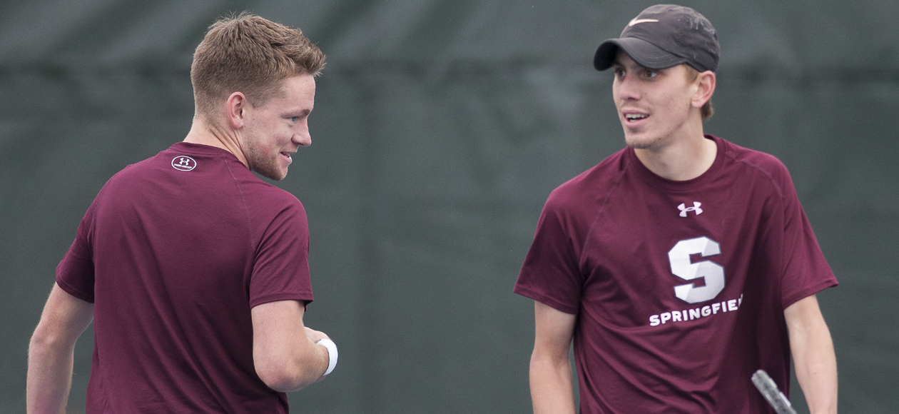 Fourth-Seeded Men's Tennis Knocks Off Fifth-Seeded Wheaton in NEWMAC Championship Quarterfinals