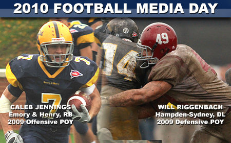 ODAC Announces 2010 Football Media Day