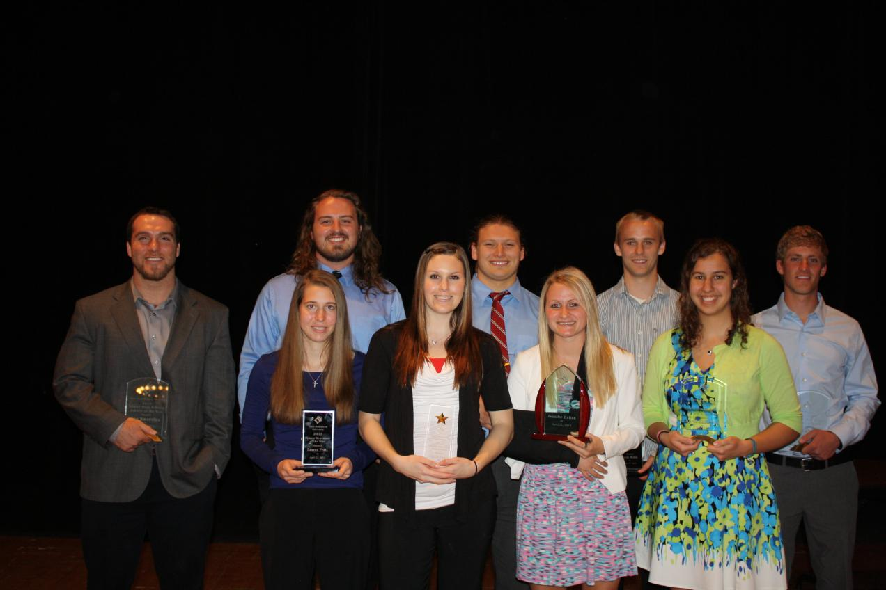 Student-Athletes Honored At Year-End Banquet