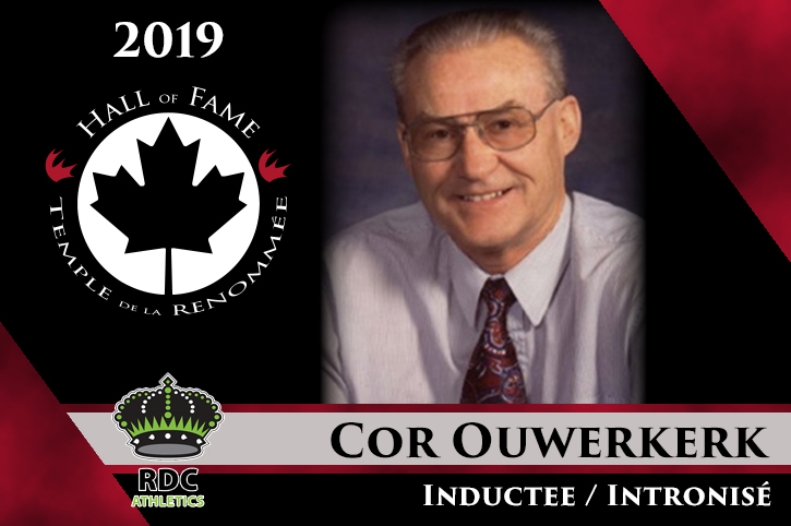 2019 CCAA Hall of Fame Inductee: Cor Ouwerkerk