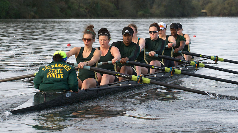 ROWING CONCLUDES FIRST DAY OF THE LAKE NATOMA INVITATIONAL