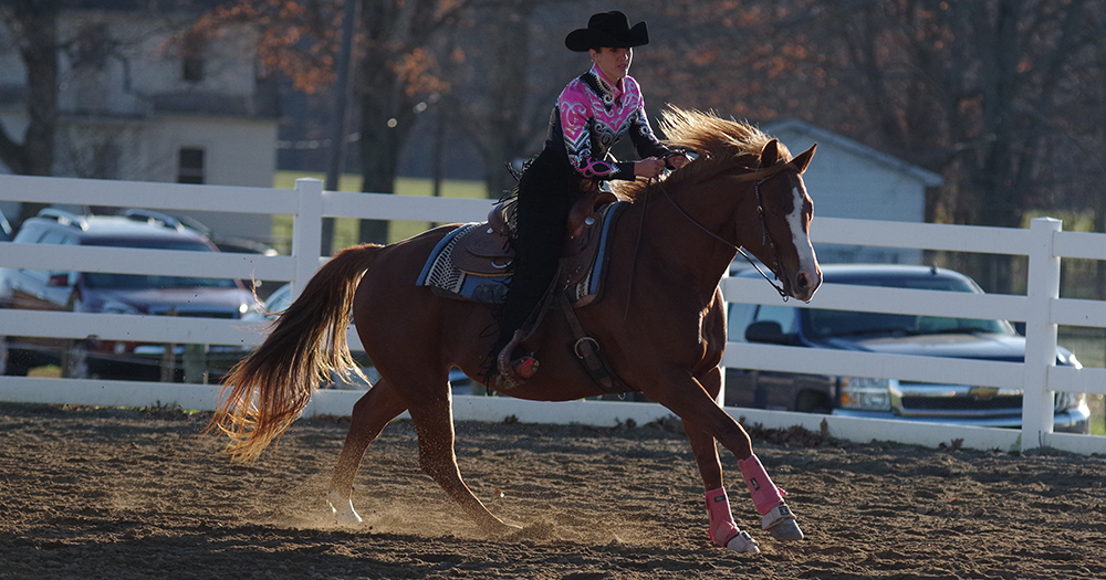 Chaney Guides SMWC to Success at Home Western Show