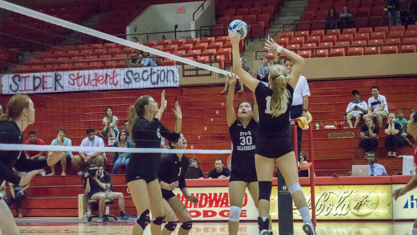 Reid helps Seasiders upend Lancers in thrilling five-set match